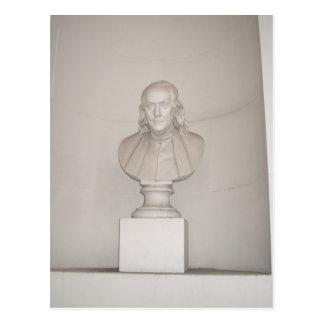 Carte Postale Grand ancêtre Ben Franklin les Etats-Unis