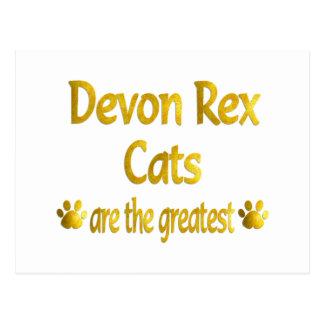 Carte Postale Grand Devon Rex