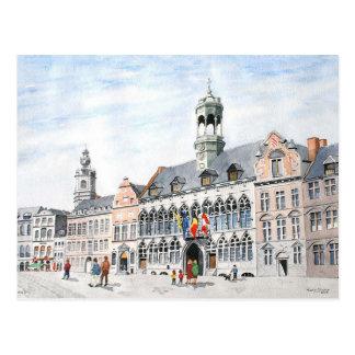 Carte Postale Grand-Endroit de La, Mons, Belgique