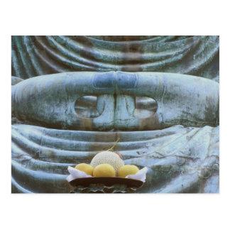 Carte Postale Grand petit groupe de Bouddha, temple de Kotokuji,