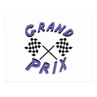 Carte Postale Grand prix