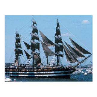 Carte Postale Grand voilier