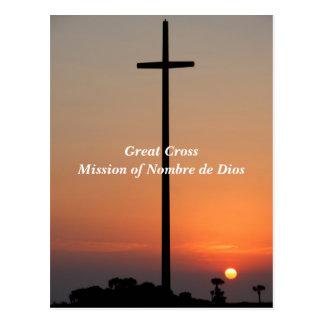 Carte Postale Grande mission croisée de Nombre de Dios Postcard