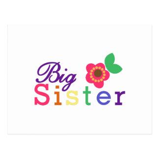 Carte Postale Grande soeur