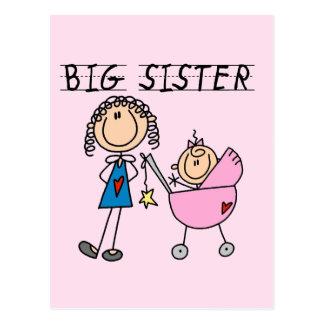 Carte Postale Grande soeur avec peu de T-shirts de SIS
