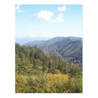 Carte Postale Grande vue 1 de montagne fumeuse