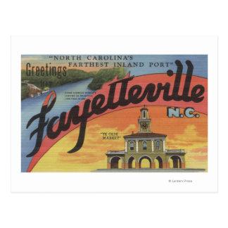 Carte Postale Grandes scènes de lettre - Fayetteville, OR