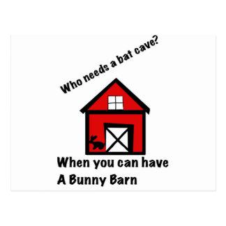 Carte Postale Grange de lapin