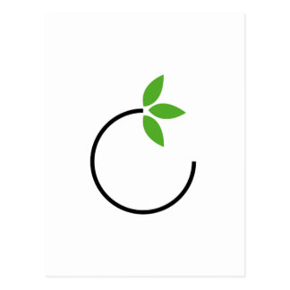Carte Postale Graphique amical d'Eco