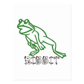 Carte Postale Grenouille de Ribbit