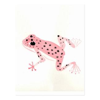 Carte Postale Grenouille rouge