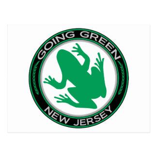 Carte Postale Grenouille verte allante de New Jersey