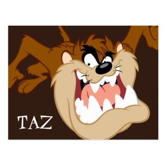 Carte Postale Grimace de mal de TAZ™