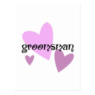 Carte Postale Groomsman