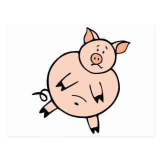 Carte Postale Gros porcin