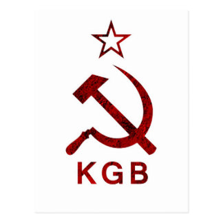 Carte Postale Grunge de KGB