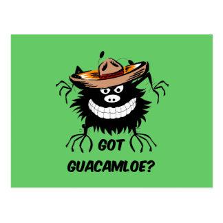 Carte Postale Guacamole obtenu