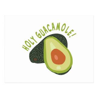 Carte Postale Guacamole saint