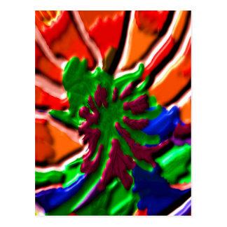 Carte Postale Guérison de Lotus   flower power