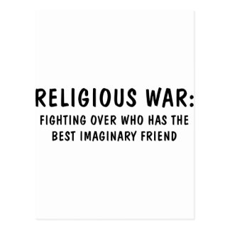 Carte Postale Guerre religieuse