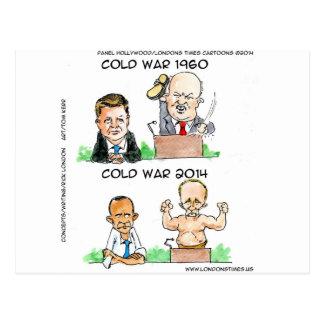 Carte Postale Guerres froides de 1960 et de 2014 drôles
