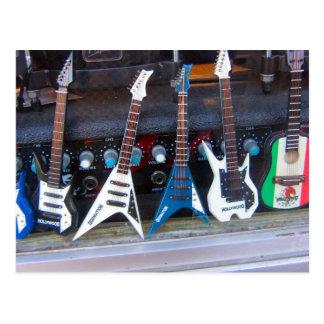 Carte Postale Guitares de Hollywood