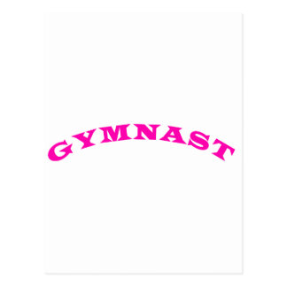 Carte Postale Gymnaste