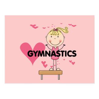 Carte Postale GYMNASTIQUE - T-shirts et cadeaux de gymnastique