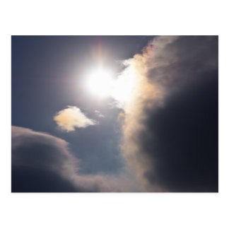 Carte Postale Habillement et cadeaux d'éclat de nuage