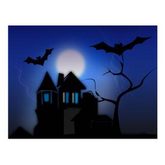 Carte Postale Halloween éffrayant