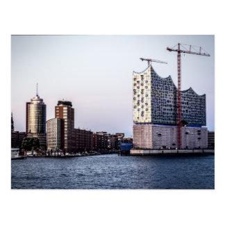 Carte Postale Hambourg Elbphilharmonie