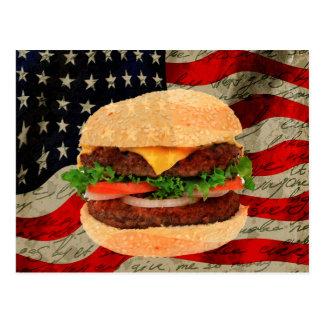 Carte Postale Hamburger