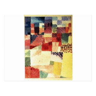 Carte Postale Hammamet par Paul Klee
