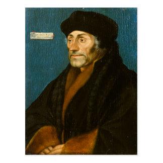 Carte Postale Hans Holbein Erasmus plus jeune de Rotterdam