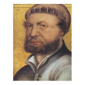 Carte Postale Hans Holbein l'autoportrait plus jeune