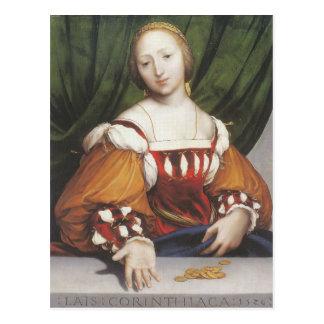 Carte Postale Hans Holbein le Lais plus jeune Corinthiaca