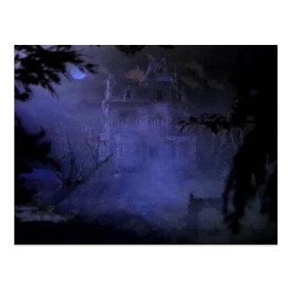 Carte postale hantée de Chambre de colline