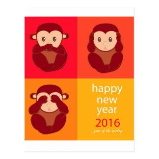 Carte Postale Happy New Year 2016