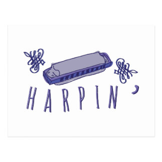 Carte Postale Harmonica Harpin