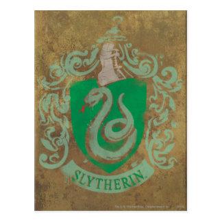 Carte Postale Harry Potter   Slytherin vintage