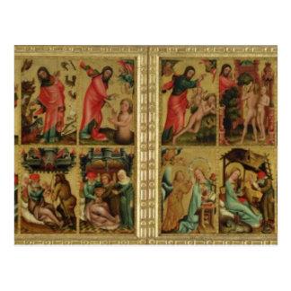 Carte Postale Haut autel de St Peter à Hambourg