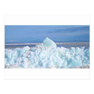 Carte Postale haut breal de glace