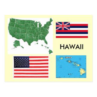 Carte Postale Hawaï, Etats-Unis