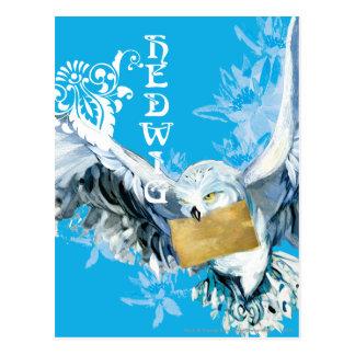 Carte Postale Hedwig
