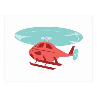 Carte Postale Hélicoptère