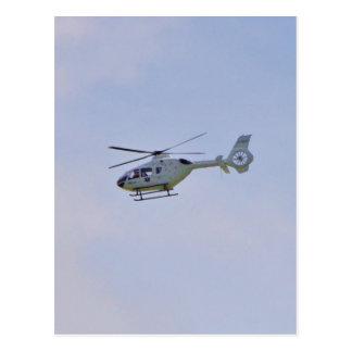 Carte Postale Hélicoptère médical