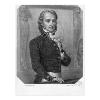 Carte Postale Henri Benjamin Constant de Rebecque au