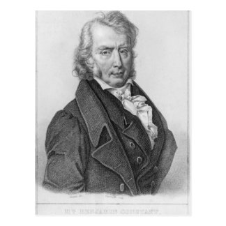 Carte Postale Henri Benjamin Constant de Rebecque comme député