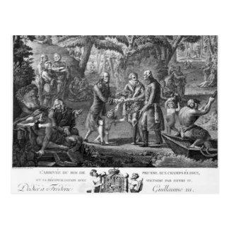 Carte Postale Henri IV Frederick de réconciliation William II