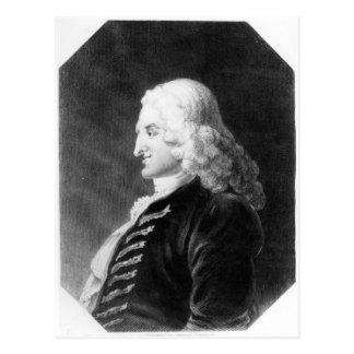 Carte Postale Henry Fielding a gravé par Samuel Freeman